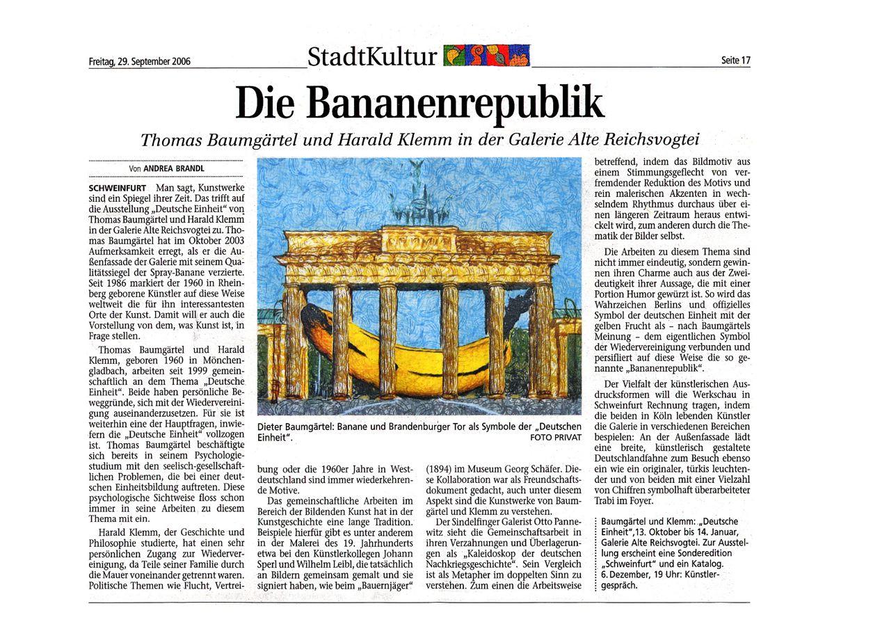 Arbeiten zum Thema Deutsche Einheit