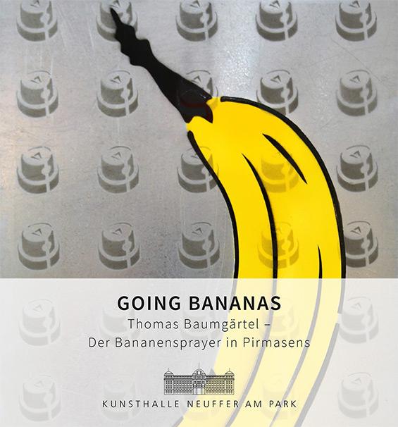 e1841843c00eca Der Bananensprayer Thomas Baumgärtel markiert Galerien und Kunstorte ...